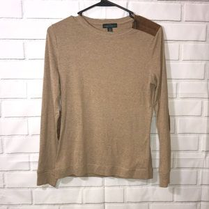 Ralph Lauren Jeans Co Brown Long Sleeve Top Medium